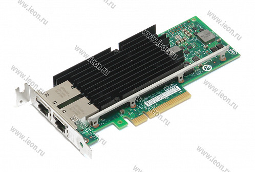 Адаптер Ethernet Intel X540-T2, 2 x 10Gbit, PCIe x8, Low Profile (кл.C)