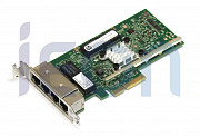 Адаптер Ethernet HP 331T 647592-001 / 649871-001, 4 x 1Gbit, PCIe x4, Low Profile (кл.C)