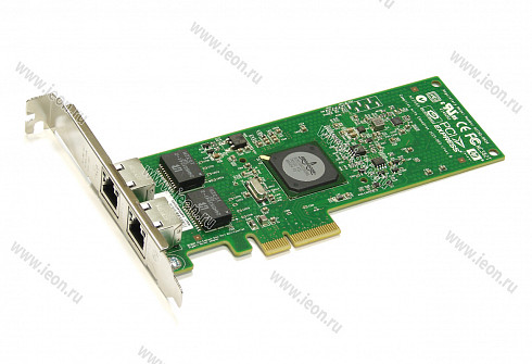 Адаптер Ethernet HP NC382T 458491-001 / 453055-001, 2 x 1Gbit, PCIe x4, High Profile (кл.C)