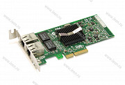 Адаптер Ethernet Intel PRO/1000 PT, 2 x 1Gbit, PCIe x4, Low Profile (кл.C)